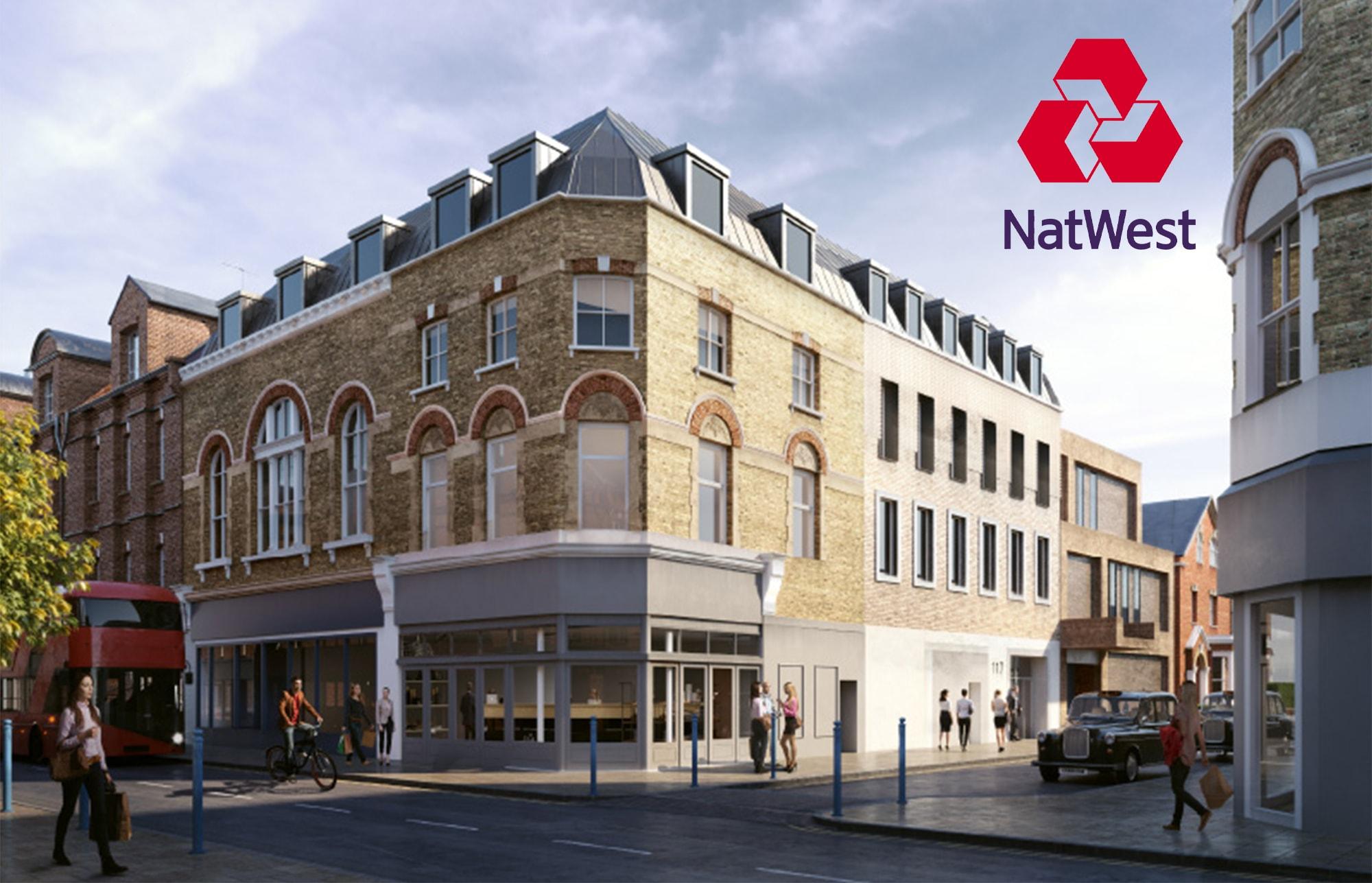 bank development putney office
