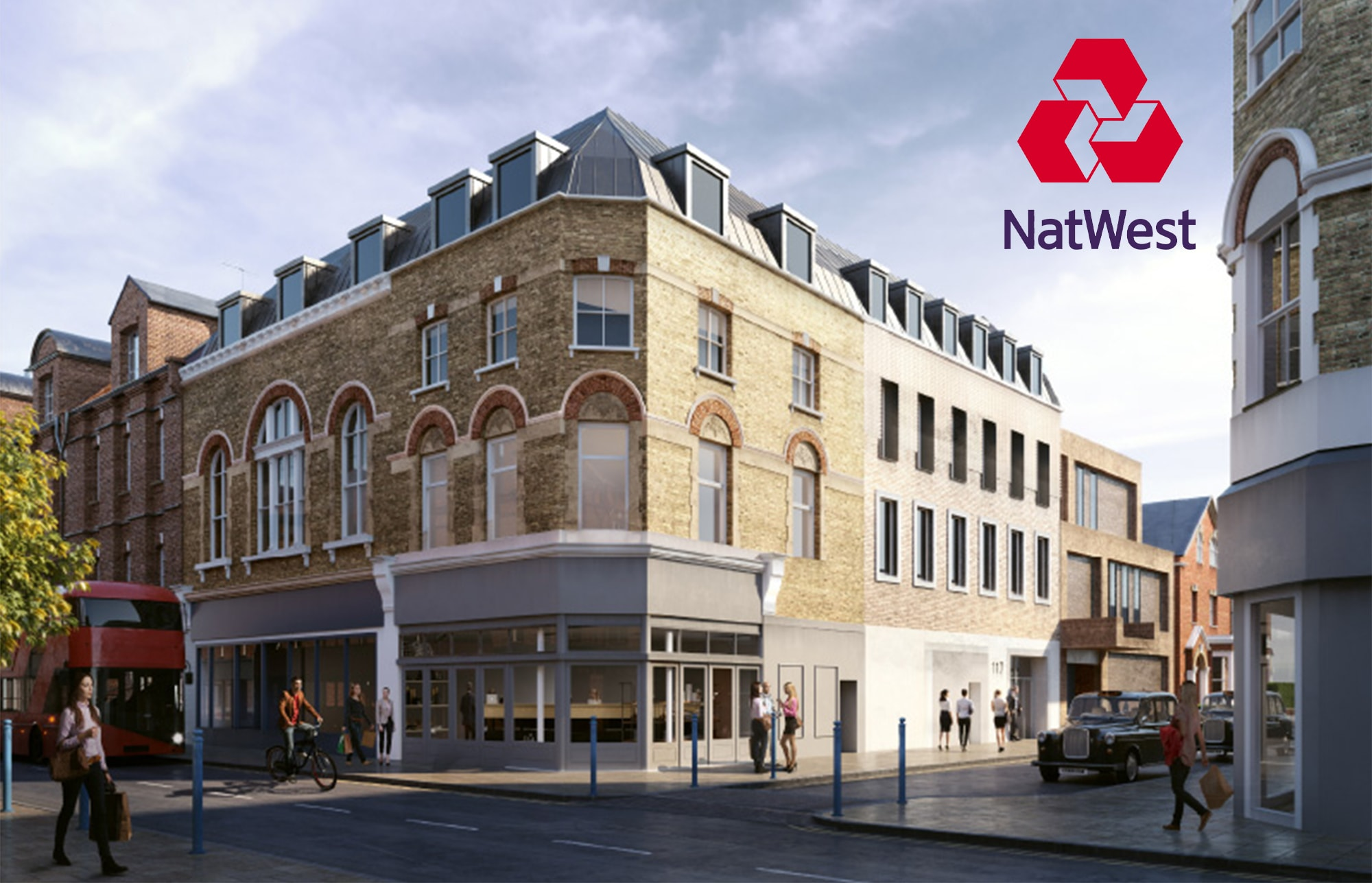 bank development putney office
